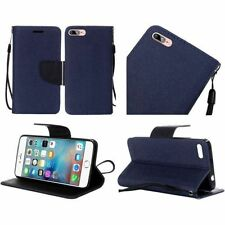 Fundas con tapa color principal azul para teléfonos móviles y PDAs Apple