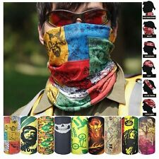 Pasamontañas Bufanda de Calavera Sin Costura Máscara Facial de Tubo de Poliéster
