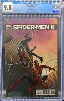 Spider-Men II # 1 CGC 9.8 WHITE Pages Marquez Variant
