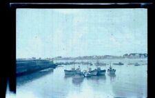 Bateaux de pêcheurs -  Ancien négatif Photo