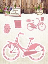 Studio Light Embossing Die Cutting Stencil Home & Happiness No.19