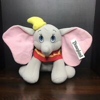 "Disneyland Dumbo Plush Disney Parks Exclusive 13"" Elephant New NWT Disney World"