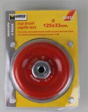 Maurer 86528 Pinsel Cup Schleifer Stahldrahtbürste 125 x 33 mm Rund LS3-86528