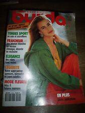 MAGAZINE BURDA TENDANCES BLOUSES / ROBES AVEC VESTES / SPORT    04/1991