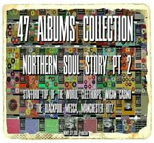 NORTHERN SOUL STORY PT2# 47 ALBUMS COLLECTION STAFFORD CLEETHORPES RITZ MECCA