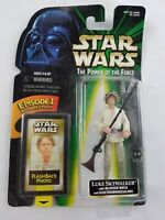 Star Wars Power of the Force Kenner 1998 Luke Skywalker Flash Back Photo New