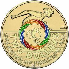 **2016 Rio Paralympics Games $2 Multicoloured  UNC**