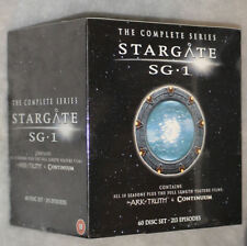 Stargate SG-1 Complete Seasons 1-10 + Ark of Truth, Continuum - 60 DVD Box Set