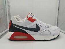 Nike Air Max IVO UK 11 White Dark Grey Habanero Red CD1540-100