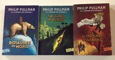 A LA CROISEE DES MONDES tomes 1 à 3 Philip Pullman roman COMPLET Folio junior