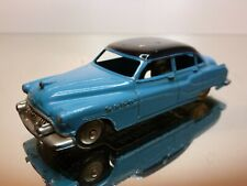 DINKY TOYS 24V BUICK ROADMASTER - BLUE + BLACK 1:43 - GOOD CONDITION