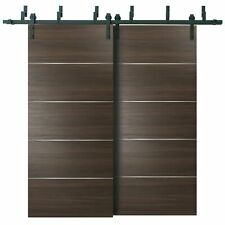 "64"" x 96"" Barn Bypass Doors with 6.6ft Hardware 