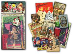Christmas Past Memorabilia Gift Pack with over 20 pieces of Replica Artwork