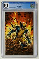 Return of Wolverine #1 CGC 9.8 McNiven VIRGIN 1:100 Variant CURRENT COSTUME
