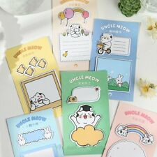 """""""Cats Life"""" Pack of 6 Sticky Notes Cute Stickers Adhesive Memo Pads Notepad"""