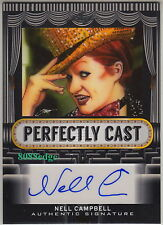 2013 POP CENTURY PERFECTLY CAST AUTO:NELL CAMPBELL #21/25 AUTOGRAPH ROCKY HORROR