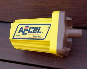 Vintage NOS Accel Super Coil 140001 70's-80's Hot Rod Muscle Car Never Used COOL