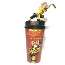 Kung Fu Panda 3 Movie Figurine Master Tigress Cup Topper Cinemas Theatres Model