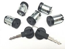 Set of 5 Door Locks Barrel Citroen Dispatch Synergie Xantia XM - 5 YEAR WARRANTY