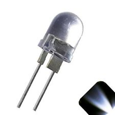 10 x LED 10mm Cool White .5 Watt Super Bright High Power LEDs 0.5w half 1/2 Car