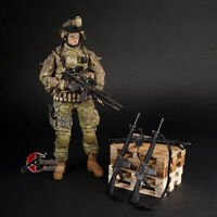 1/6 M16  Black US Army Rifle Gun Weapon Model F 12'' Soldier Action Figure Toys