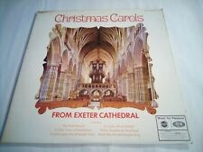 Christmas Carols from Exeter Cathedral  Vinyl LP Record album 1966 vg++