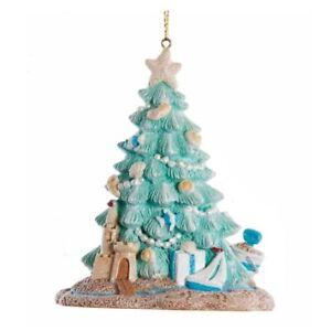 Coastal Beach Christmas Tree Ornament E0588
