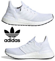 Adidas Ultraboost 20 Running Shoes Women's Casual Sneakers Athletic White