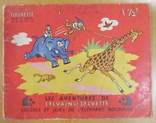 SYLVAIN et SYLVETTE ALBUM FLEURETTE N° 12 COLÈRES & JOIES de L ÉLÉPHANT BOUBOULE