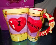 TAZZA AMORE LOVE IDEA REGALO I LOVE PROVENCE ac1