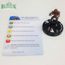 Heroclix Iron Maiden set The Final Frontier #009 Gravity Feed figure w/card!