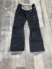 Burton Black Snowboard Ski Cargo Pants WOMEN'S Size M NWOT'S