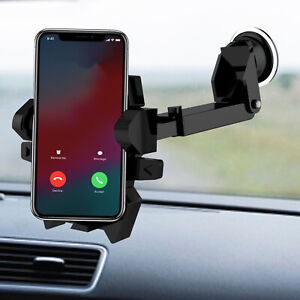 Mobile Cell Phone GPS Holder 360° For iPhone Samsung  Mount Car Windshield Stand