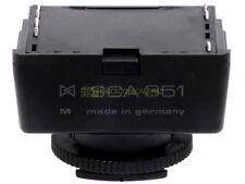 Metz zoccolo SCA 351, dedicato Leica R. Per tutti i flash Metz SCA system.