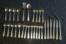 ONEIDA FLIGHT RELIANCE Stainless Flatware SET OF 29 Dinner Knife Forks Spoons