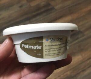 Petmate Small Animal or Reptile Bowl Microban 4oz  Small