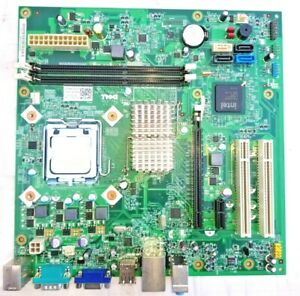 DELL 07N90W MOTHERBOARD + 2.93GHz INTEL CORE 2 DUO SLGTE CPU