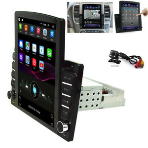 """1DIN 10.1"""" Android 8.1 Car Stereo Head Unit Radio GPS Navigation WiFi OBD &Cam"""
