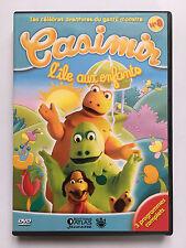 COLLECTION CASIMIR DVD N°8 ... L'ÎLE AUX ENFANTS .. 3 PROGRAMMES COMPLETS