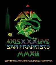 ASIA - AXIS XXX LIVE IN SAN FRANCISCO MMXII  BLU-RAY NEU