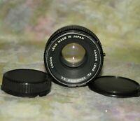Canon FD 50mm F1.8 S.C.Prime Lens AE-1 P A-1 F-1 SLR/Mirror Less Camera
