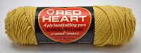 Vintage Red Heart Wintuk Virgin Orlon Acrylic Yarn - 1 Skein Lt. Gold #603