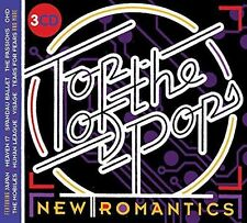 TOP OF THE POPS NEW ROMANTICS 3CD SET - VARIOUS ARTISTS (Released July 7th 2017)