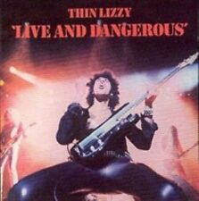 Live and Dangerous by Thin Lizzy (CD, Aug-1998, Universal/Polygram)
