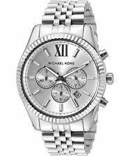 New Michael Kors Lexington Quartz Chronograph MK8405 Mens Watch