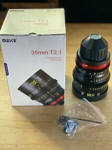 OPEN BOX Meike 35mm T2.1 FF Cinema Lens - PL Mount - NEW Ships Fast From USA!