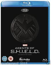 AGENTS OF SHIELD COMPLETE SERIES 1 BLU RAY All Episodes First 1st Season NEW UK