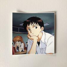 Shinji Ikari Neon Genesis Evangelion Anime Vinyl Sticker