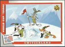 UPPER DECK WORLD CUP USA 1994-LOONEY TOONS- #040-SWITZERLAND