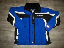 Vtg Polaris Pure Snowmobile Sled Insulated Sherpa Racing Mens Jacket Coat Medium